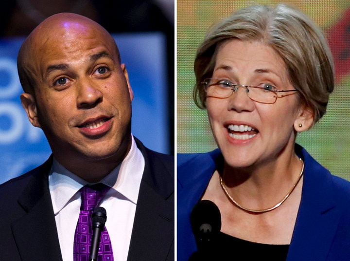 REUTERS PHOTOGRAPHER / REUTERS Senators Cory Booker and Elizabeth Warren want to improve the lives of incarcerated women.