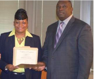 Adrienne Givens, the new Warden at Montgomery Women's Facility